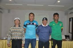 Jumpa pers: Pelatih Persis Solo Widyantoro