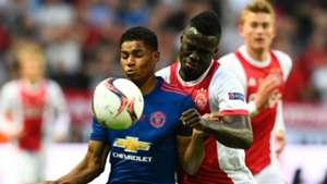 Marcus Rashford Manchester United Davinson Sanchez Ajax