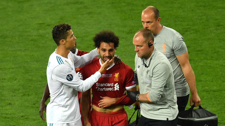 Cristiano Ronaldo Real Madrid Mohamed Salah Liverpool Champions League 2018