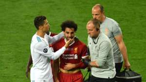 Cristiano Ronaldo Real Madrid Mohamed Salah Liverpool Champions League 2018