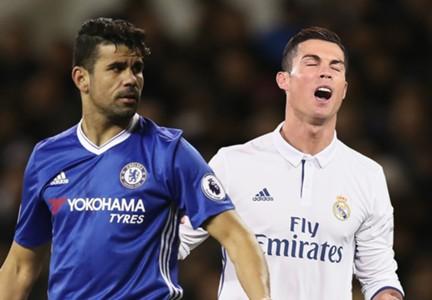 Diego Costa Cristiano Ronaldo