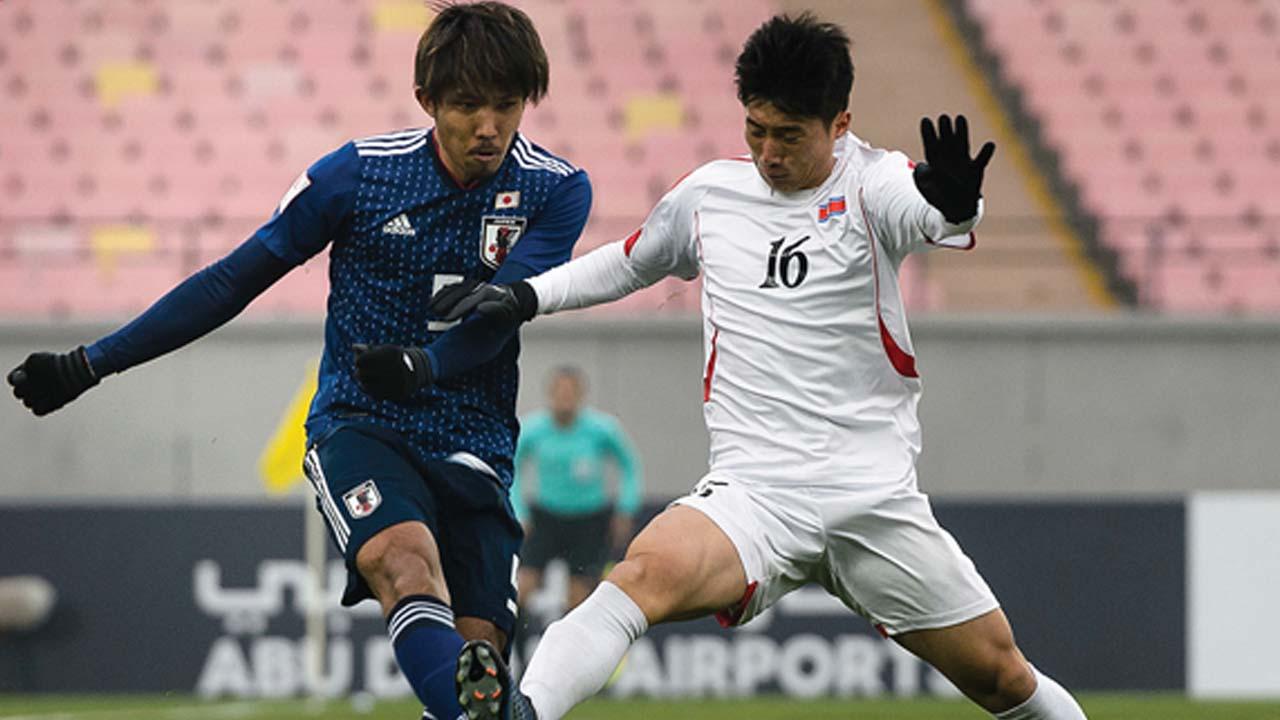 Japan vs North Korea