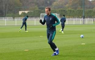 Harry Kane training