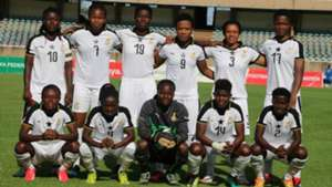 Ghana Black Queens v Kenya.