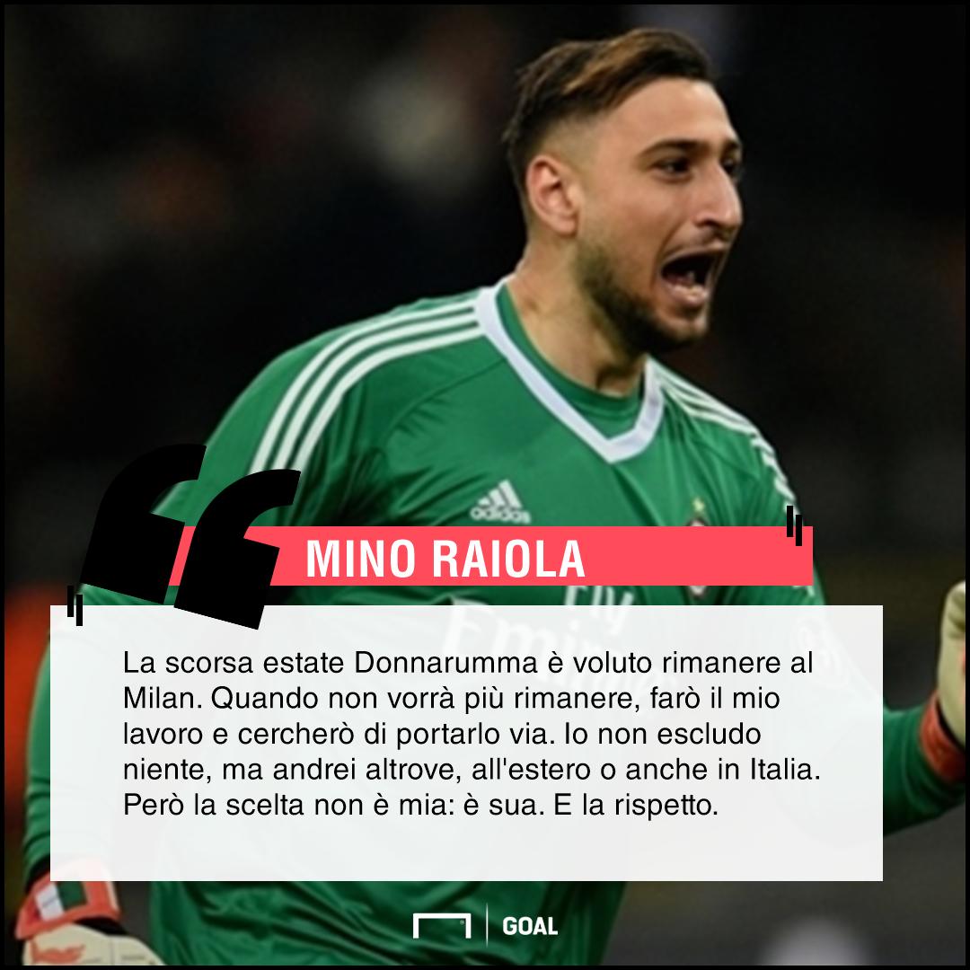 Mino Raiola a Rai Sport: