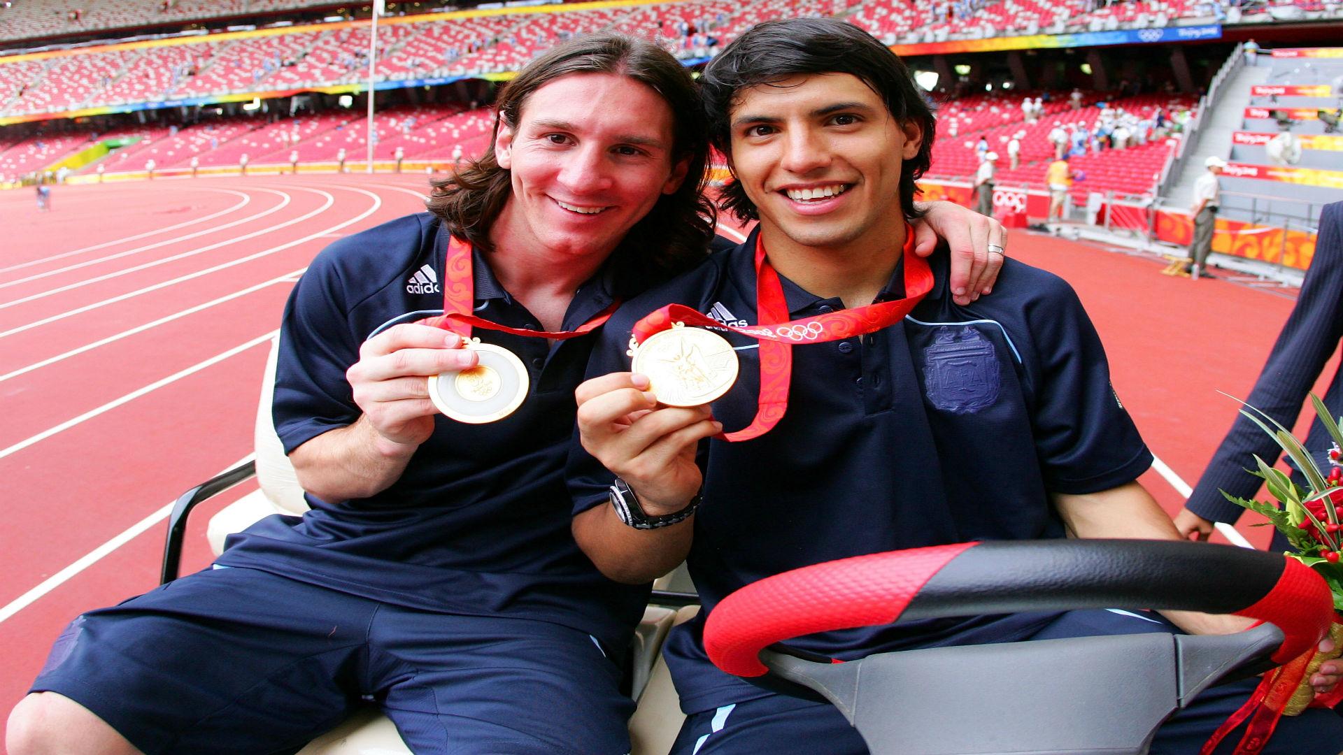 Messi Aguero Olympics