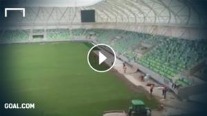 haladás stadion videó