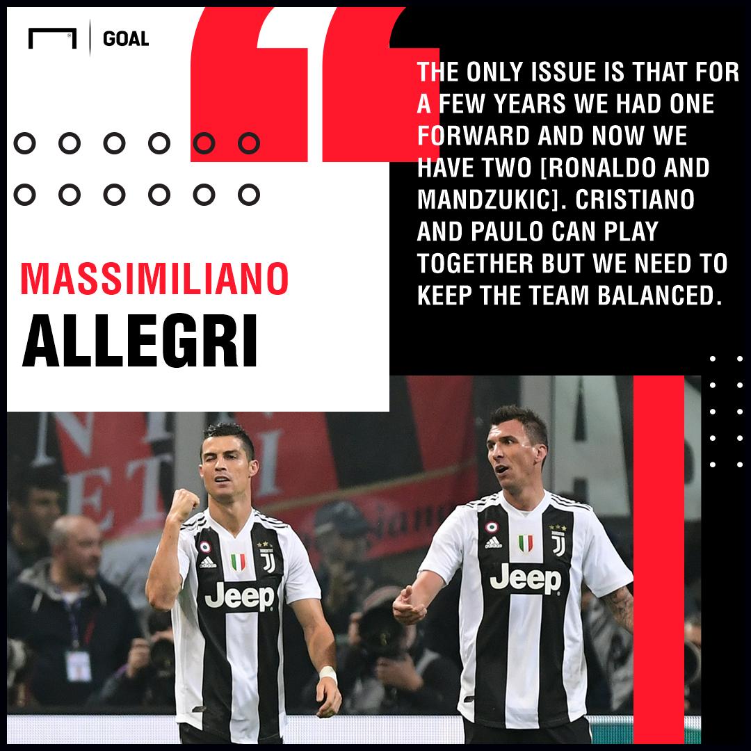 Massimiliano Allegri Paulo Dybala Juventus PS