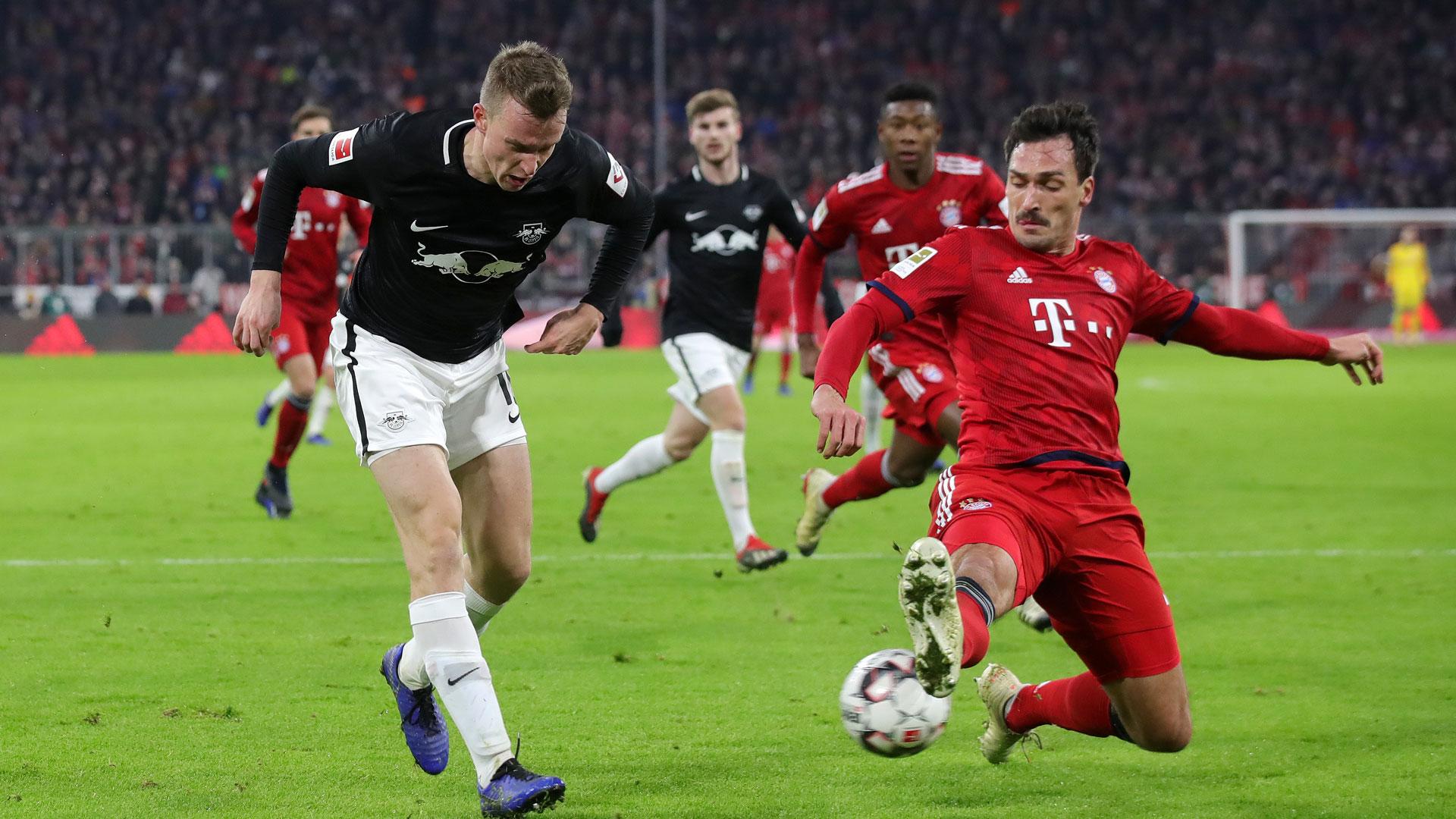 Mats Hummels FC Bayern München RB Leipzig
