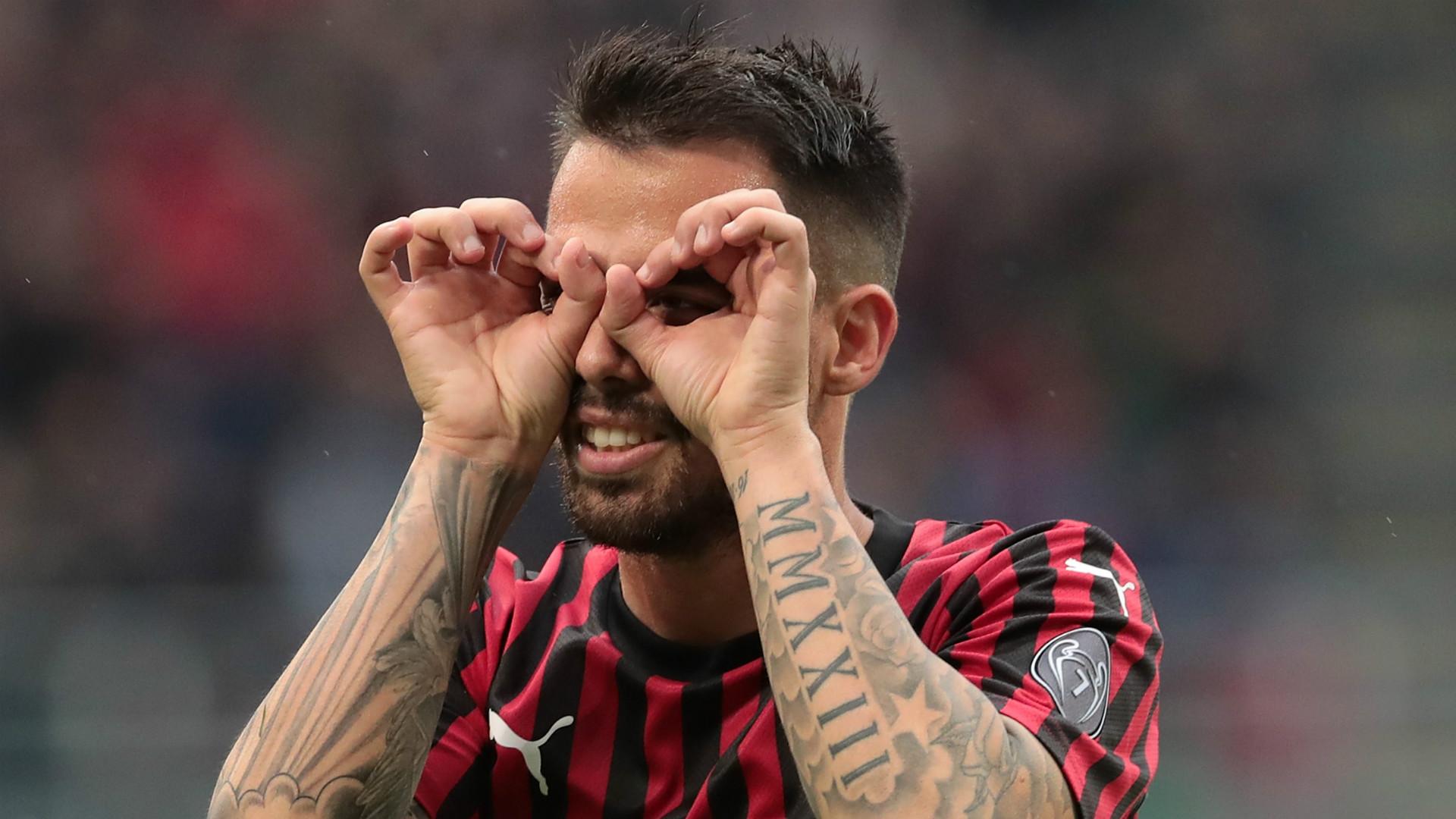 Suso AC Milan 2018-19