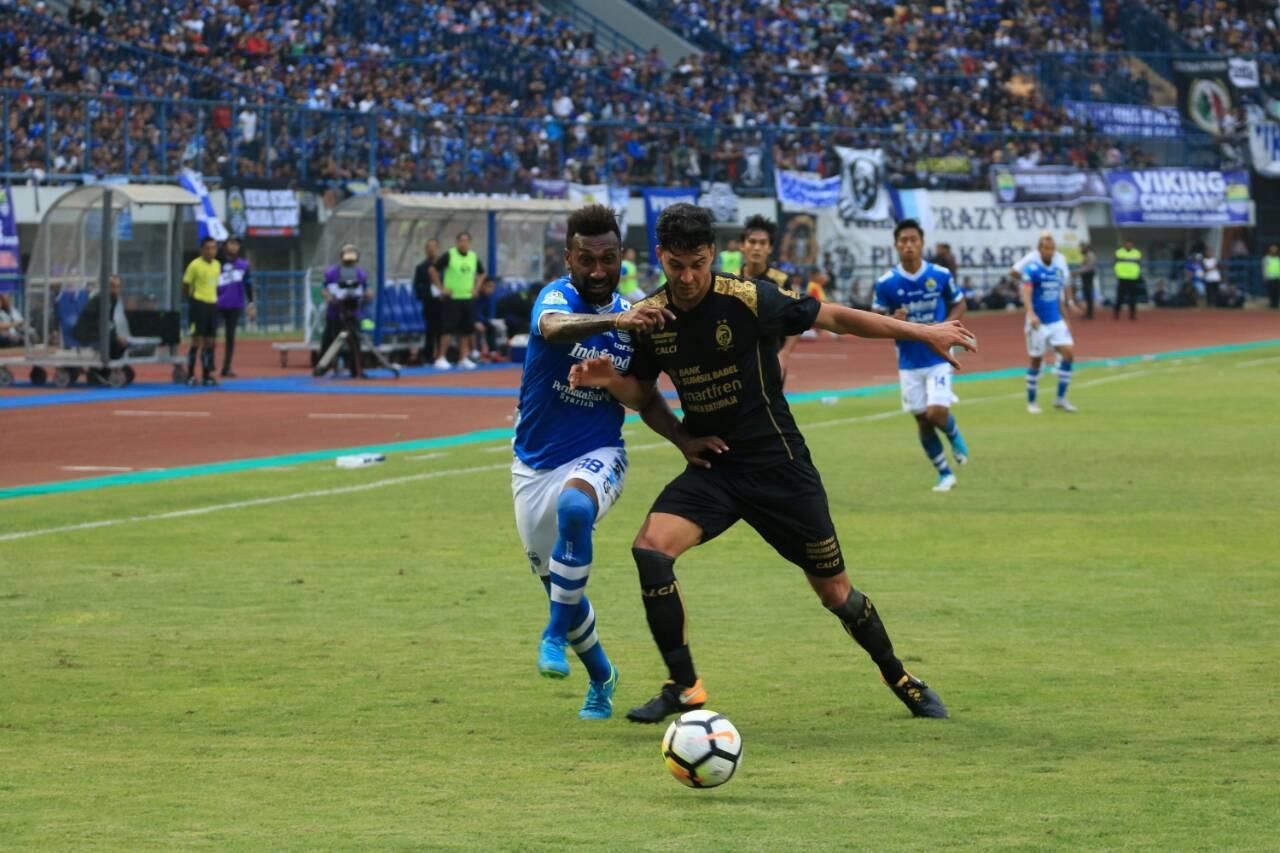 Patrich Wanggai & Alan Henrique - Persib Bandung vs Sriwijaya FC