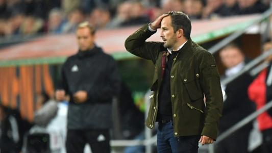 Manuel Baum, Augsburg - Leipzig, Bundesliga, 09192017