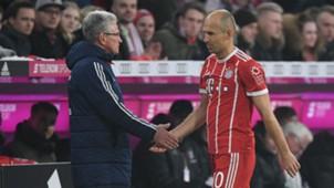 Jupp Heynckes Arjen Robben Bayern Munich