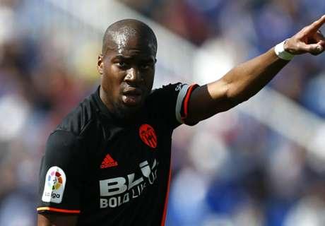 Valencia midfielder Kondogbia facing three months layoff