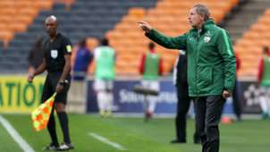 South Africa v Seychelles, October 2018, Stuart Baxter