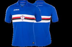 La nuova maglia della Sampdoria 2017/18