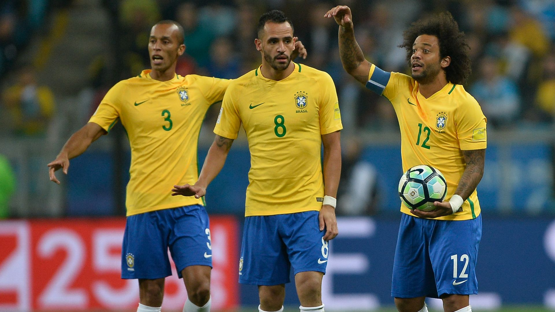 Marcelo Renato Augusto Miranda Brazil Ecuador Eliminatorias 2018 31082017