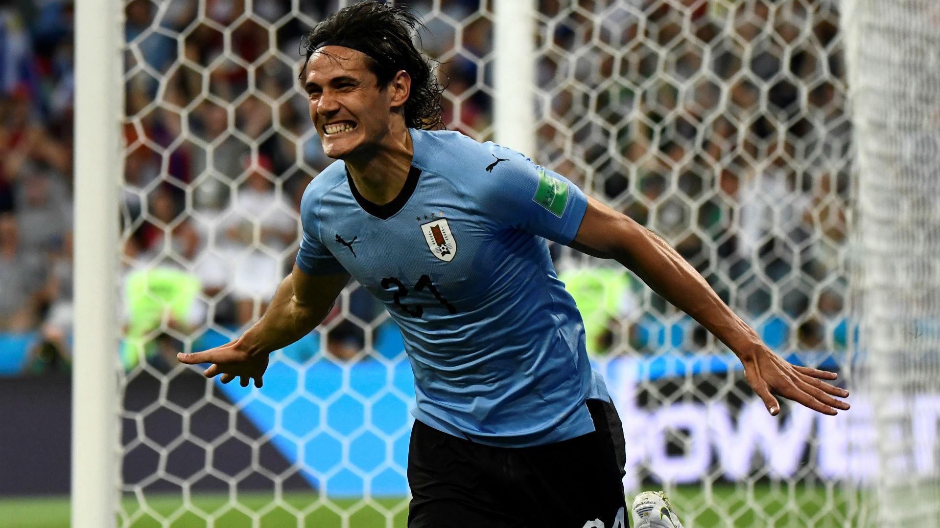 Cavani  Uruguay Portugal World Cup 2018 30062018