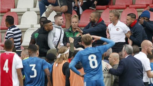 Ajax-Feyenoord Under-19 clash abandoned after fan violence