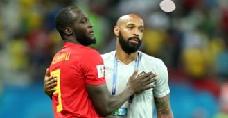Romelu Lukaku Thierry Henry Belgium
