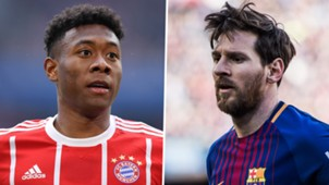 David Alaba Lionel Messi