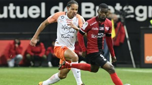 Abdoul Razzagui Camara Daniel Congre Guingamp Montpellier Ligue 1 29112017