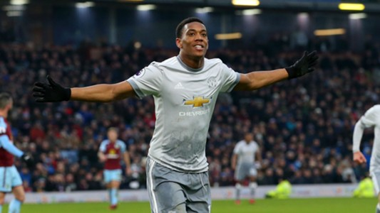 Anthony Martial Manchester United Burnley