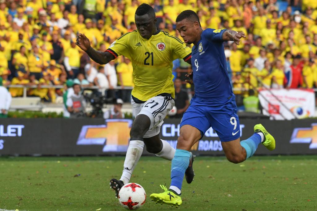 Davinson Sánchez Colombia Brasil Eliminatoria 2018