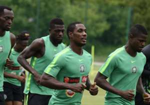 The Super Eagles, about to leave their Essentuki base, had their training session ahead of their crucial Group D clash against Iceland in Volgograd; a game they hope to win on the back of their 2-0 World Cup opener loss to Croatia