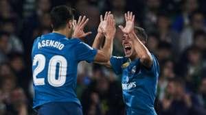 Marco Asensio Lucas Vazquez Real Madrid
