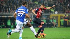 Adel Taarabt Fabio Quagliarella Genoa Sampdoria