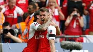 Aaron Ramsey Arsenal Chelsea FA Cup final
