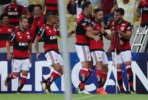 Diego Flamengo Fluminense Copa Sudamericana 01112017
