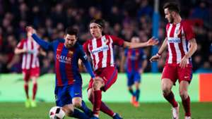 Lionel Messi Filipe Luis Barcelona Atletico Madrid Copa del Rey 02072017