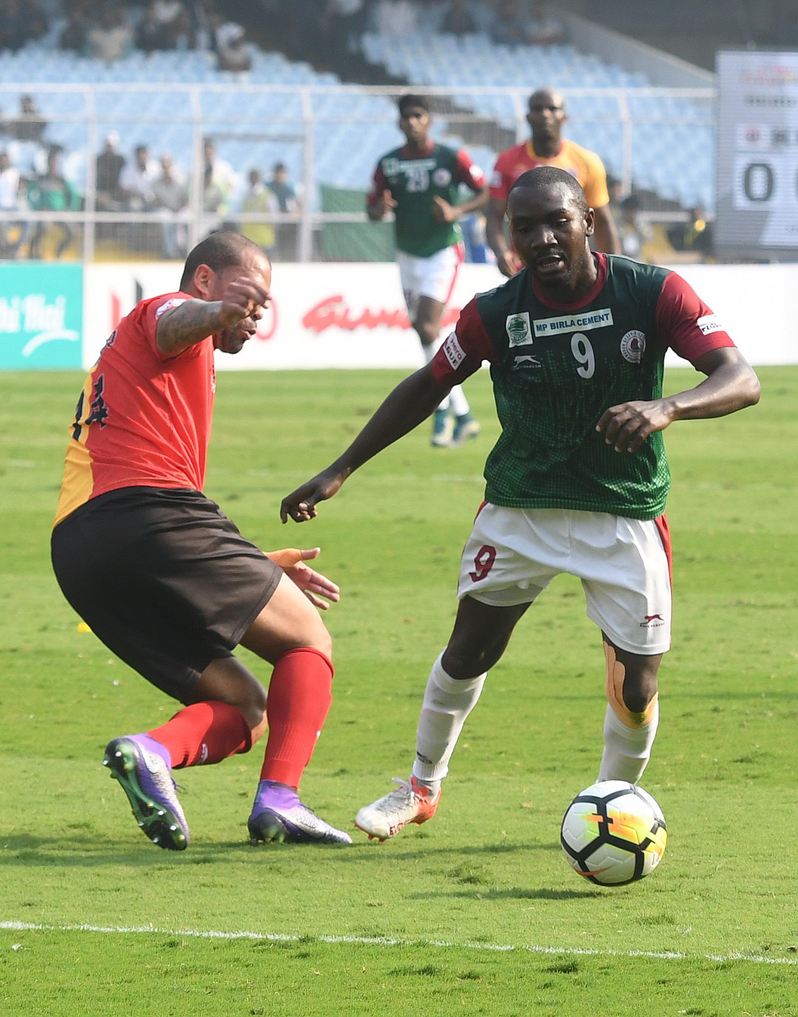 Dipanda East Bengal Mohun Bagan 2017-18 I-League Kolkata Derby