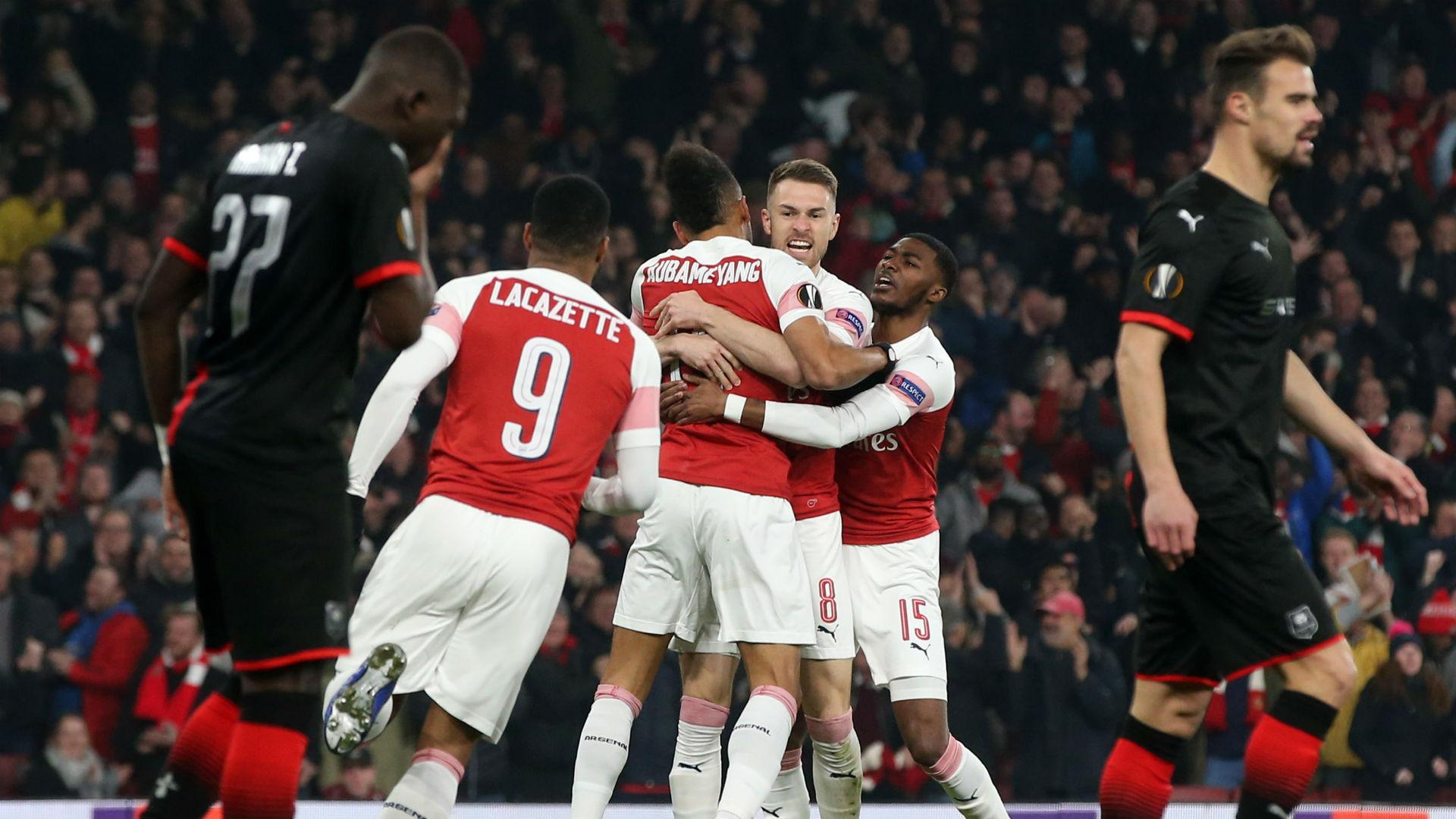Arsenal Rennes UEFA Europa League 14032019