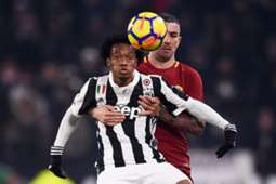 Juan Guillermo Cuadrado Juventus vs Roma 231217