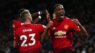 Anthony Martial Luke Shaw Manchester United