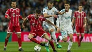 Robert Lewandowski Karim Benzema Real Madrid Bayern Munich UCL 01052018