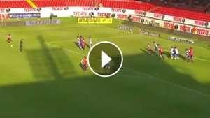 gol veracruz puebla 1-0 apertura 2017