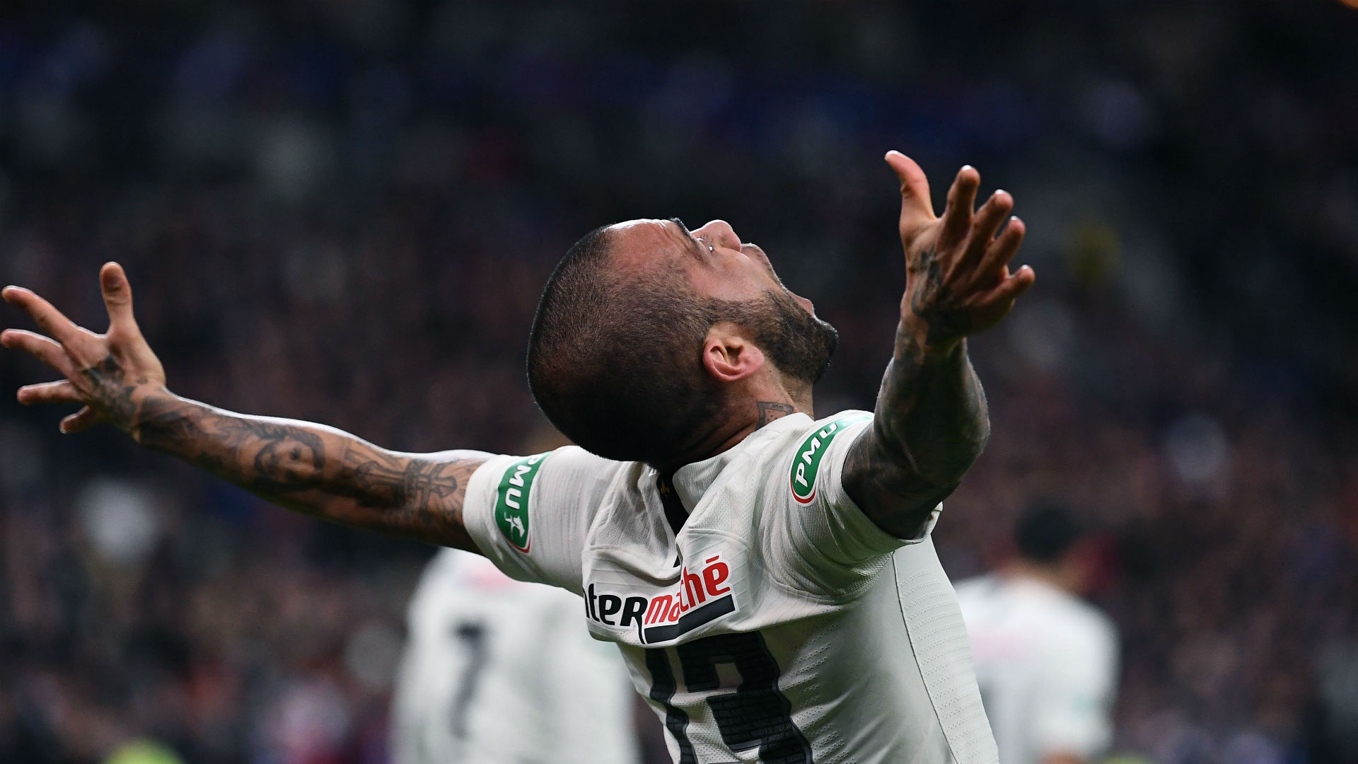 Daniel Alves Rennes PSG Coupe de France 27042019