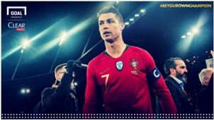Gol Ronaldo Ke Gawang Spanyol