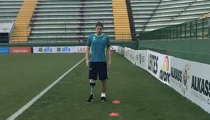 Jakson Follmann Training