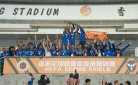 2018-19 HKFA Senior Shield Final, Kitchee 3:2 Wofoo Tai Po.