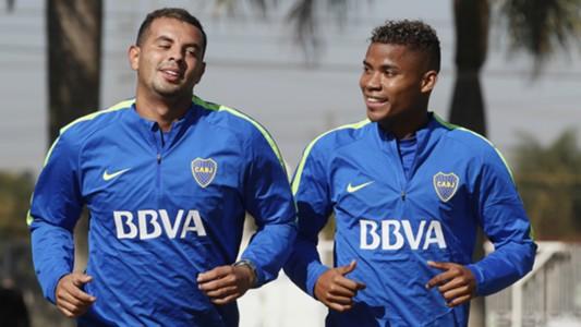 Cardona Barrios Boca Juniors Pretemporada Julio 2017