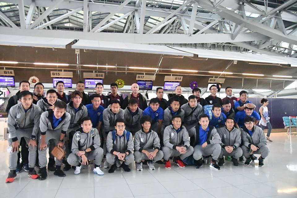 U23 Thái Lan sang Trung Quốc