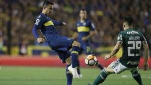 Leo Jara Willian Boca Palmeiras Copa Libertadores Semifinal Ida 24102018