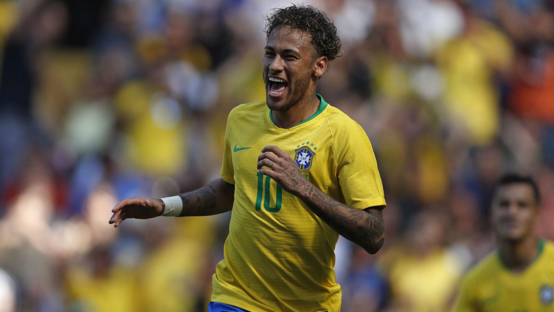 NEYMAR, Torna con il gol in Brasile-Croazia 2-0