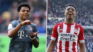 Serge Gnabry Donyell Malen Bayern PSV