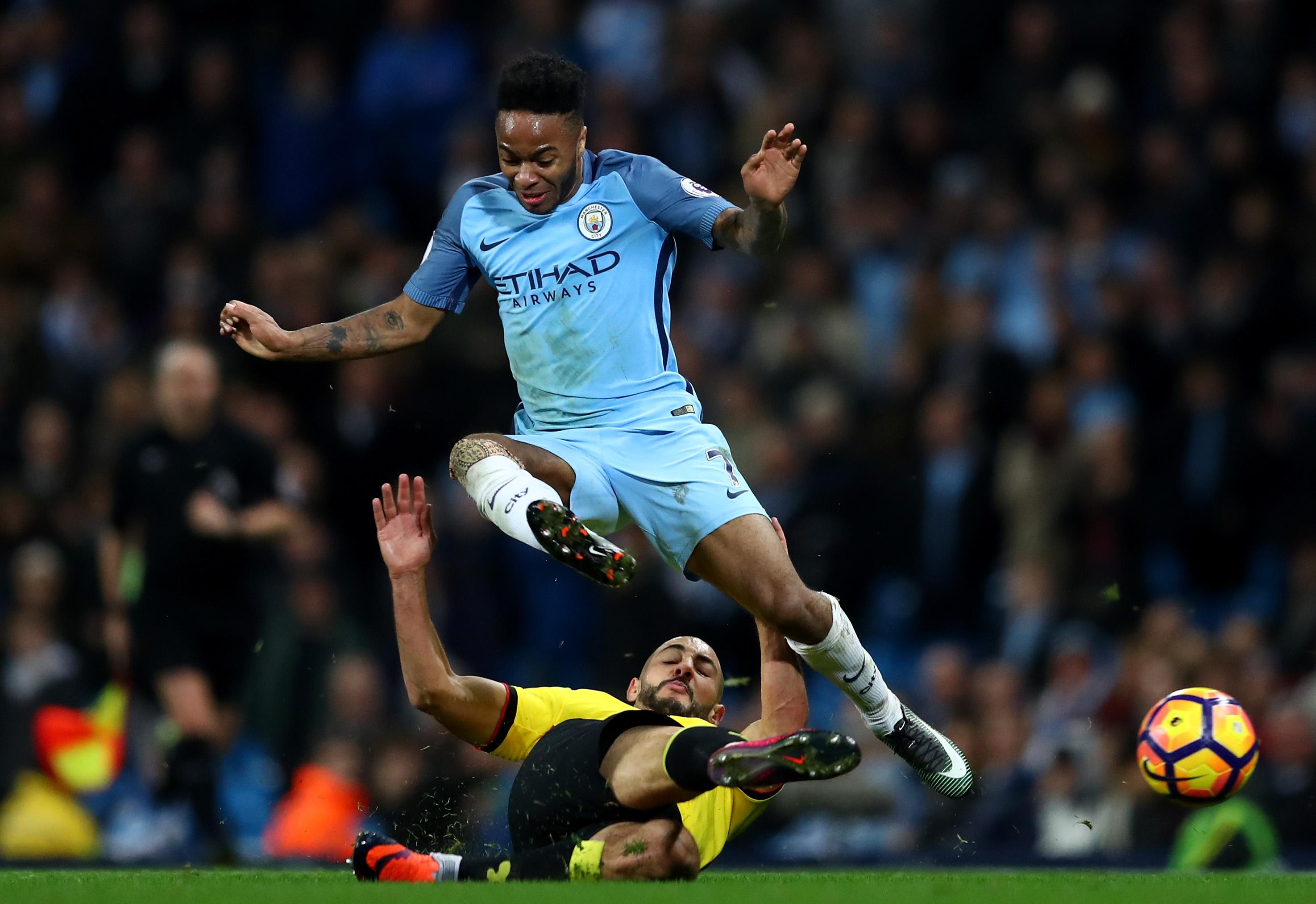 Raheem Sterling Manchester City Premier League